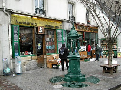 Shakespeare and Co. in Paris, France (1 of 2)
