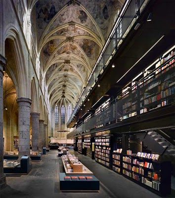 The Selexyz Bookstore in Maastricht, Holland (1 of 2)